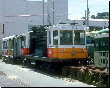Line Car 0304 Geneva Yard, 8.6.1993