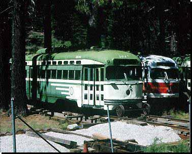 Tw 1034 abgestellt bei Tahoe Generic Rail, 11.9.1996